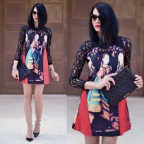 I love the print in this dress!