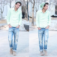 <3 Love his style