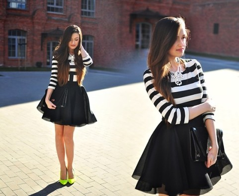 Big skirts!