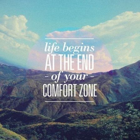 End of Comfort Zone